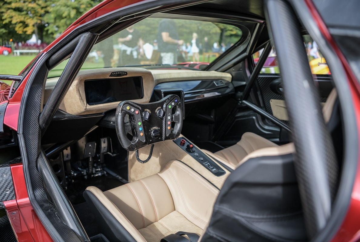Brabham BT62R interior
