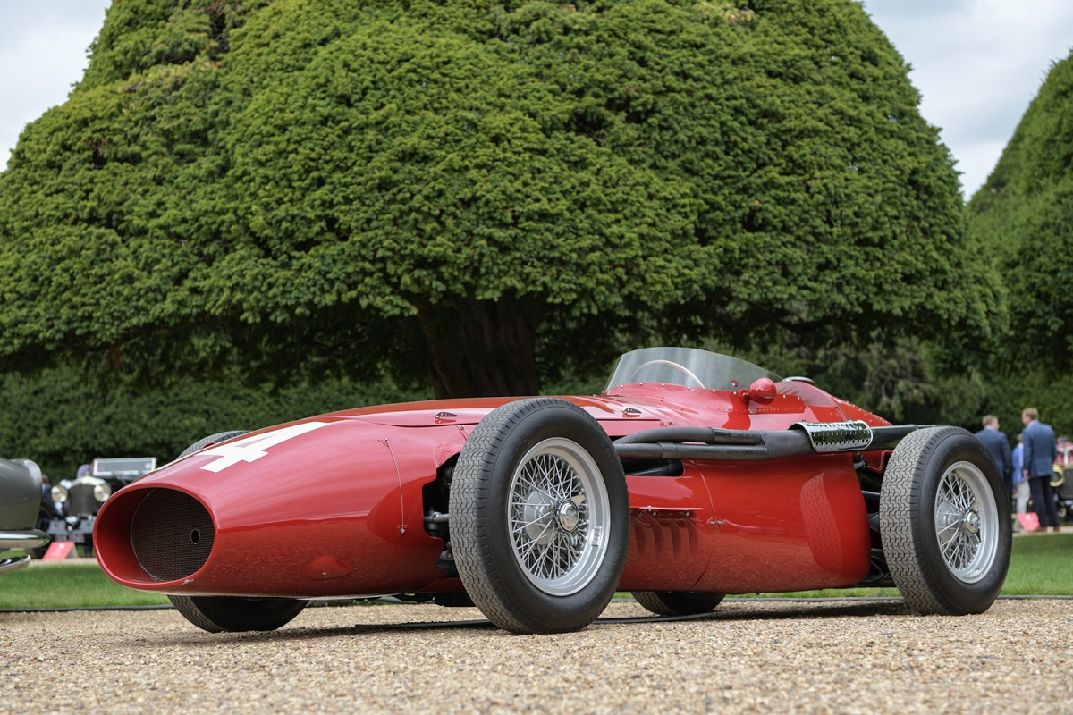 Maserati 250F ex WORKS 1954 at 2020 Concours of Elegance