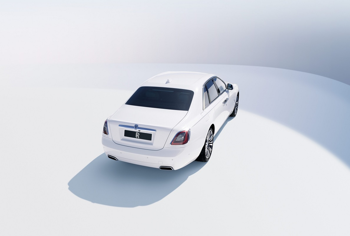 Rear view of the new Ghost