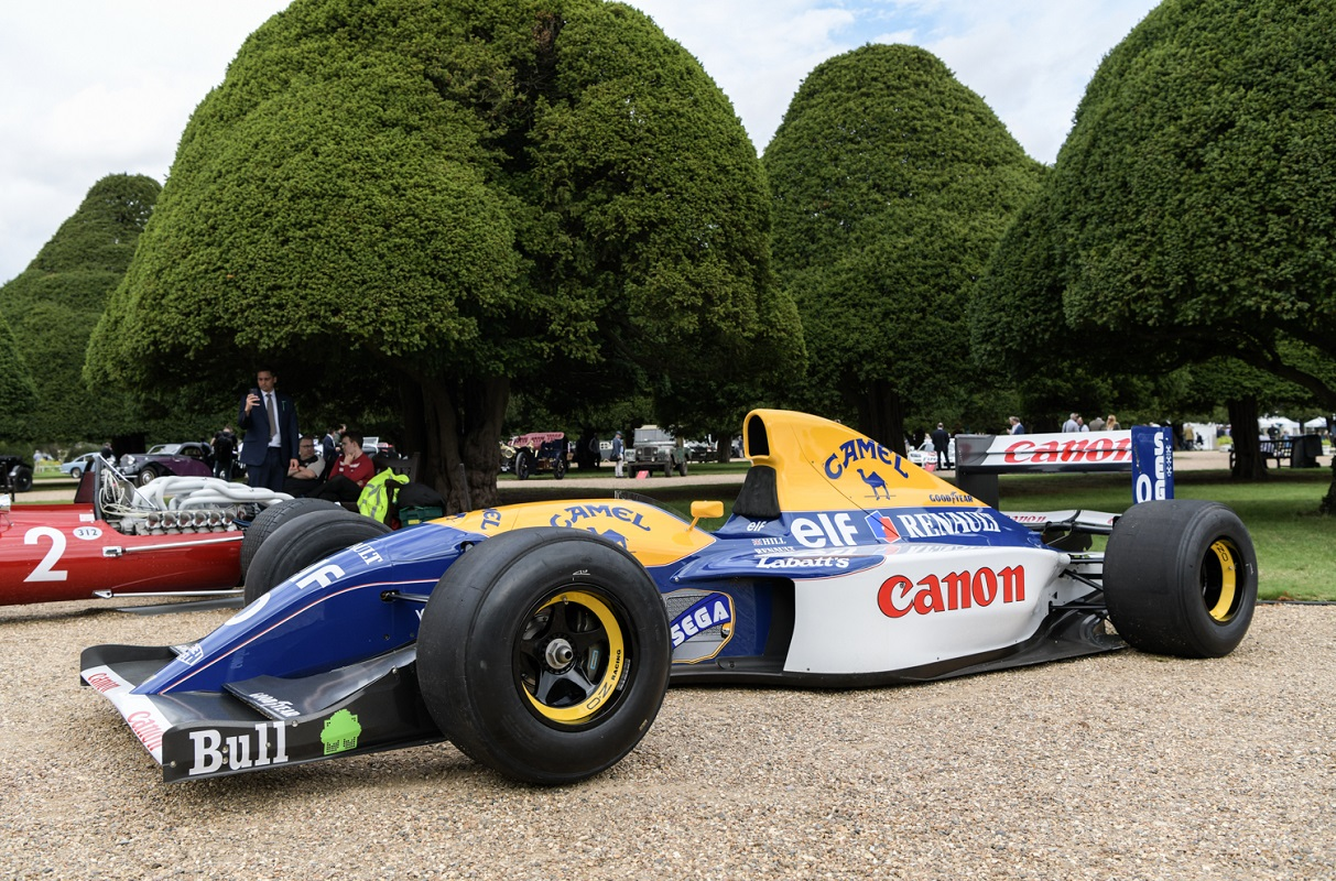 Williams FW15C F1 1993 at the 2020 Concours of Elegance