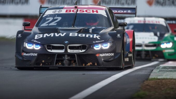 Lucas Auer in his BMW M4 DTM