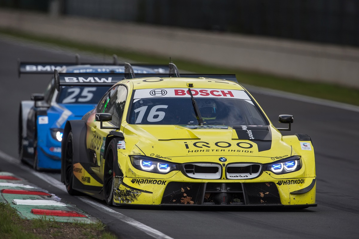 Timo Glock in his iQOO BMW M4 DTM