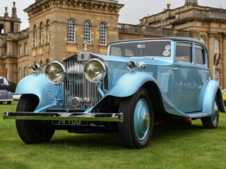 1933 Rolls-Royce Phantom II Continental Touring - Concours d'Elégance winner