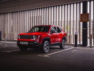 Jeep Renegade 4xe Plug-in Car