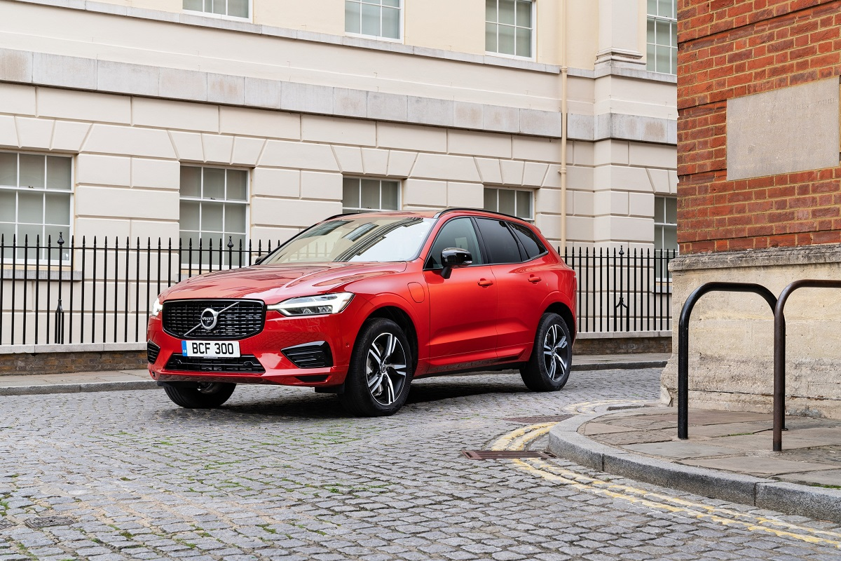 Front of Volvo XC60 Plug-In Hybrid