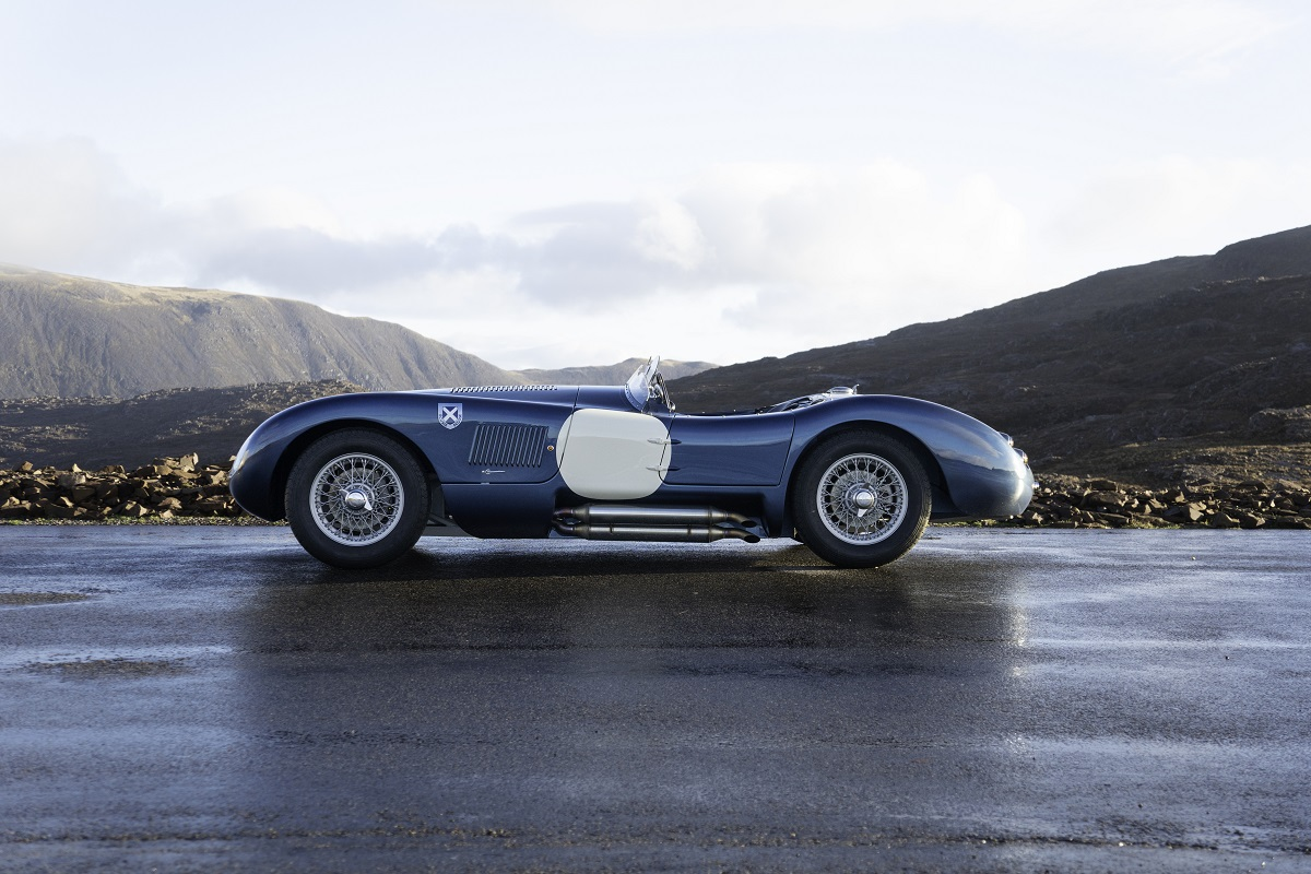 Profile of the Ecurie Ecosse C-type
