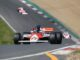 Steve Hartley in the McLaren MP4/1 wins first Masters Historic Formula One race at Brands Hatch