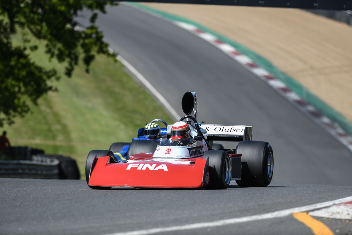 Marc Devis in the Surtees TS16