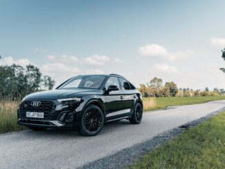Front view of the ABT Audi SQ5 TDI