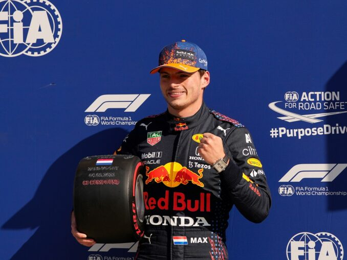 Max Verstappen takes pole position for the Dutch Grand Prix